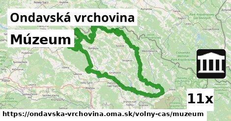 ilustračný obrázok k Múzeum, Ondavská vrchovina