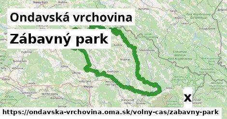 ilustračný obrázok k Zábavný park, Ondavská vrchovina