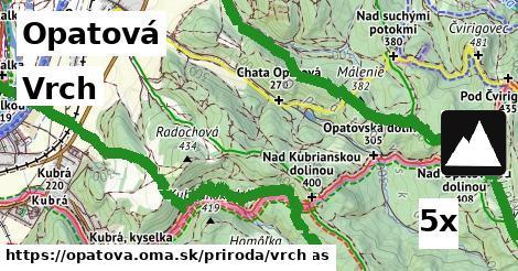 vrch v Opatová