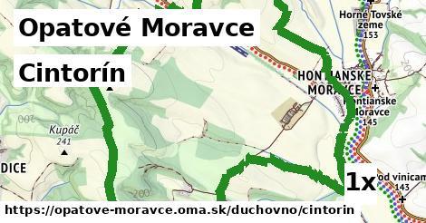 ilustračný obrázok k Cintorín, Opatové Moravce