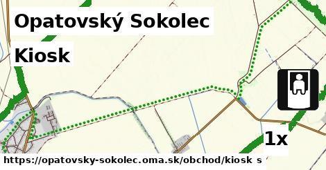 kiosk v Opatovský Sokolec