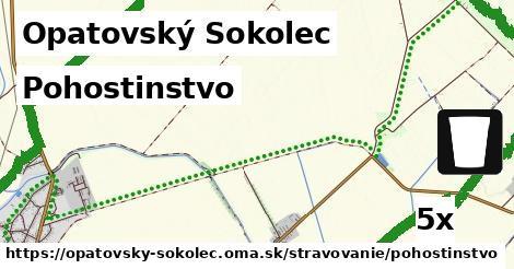 pohostinstvo v Opatovský Sokolec