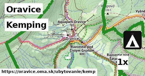 ilustračný obrázok k Kemping, Oravice