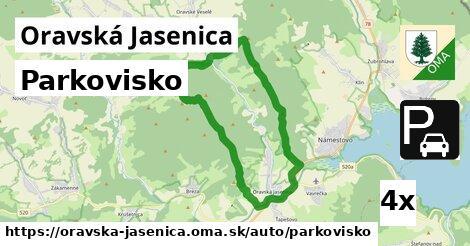 ilustračný obrázok k Parkovisko, Oravská Jasenica