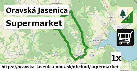 ilustračný obrázok k Supermarket, Oravská Jasenica