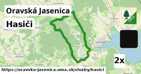 ilustračný obrázok k Hasiči, Oravská Jasenica