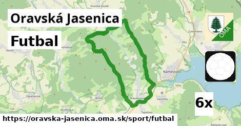 ilustračný obrázok k Futbal, Oravská Jasenica