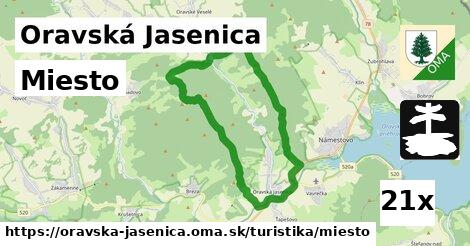 ilustračný obrázok k Miesto, Oravská Jasenica