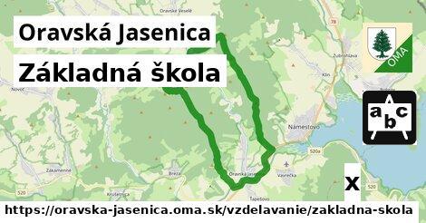 ilustračný obrázok k Základná škola, Oravská Jasenica