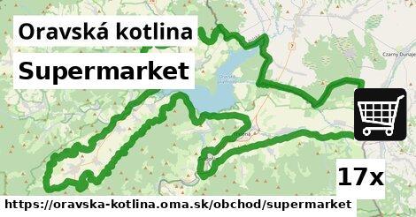 ilustračný obrázok k Supermarket, Oravská kotlina