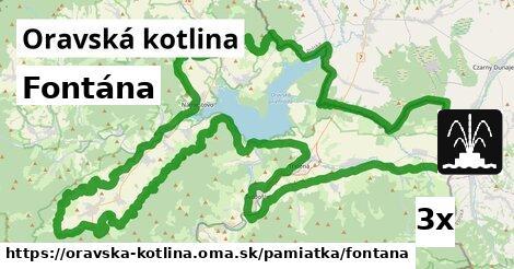 ilustračný obrázok k Fontána, Oravská kotlina