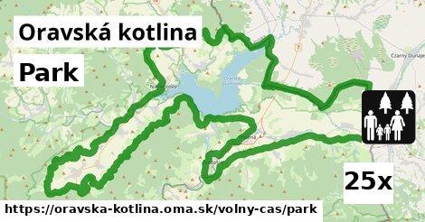 ilustračný obrázok k Park, Oravská kotlina
