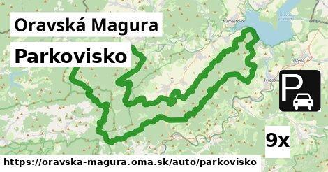 ilustračný obrázok k Parkovisko, Oravská Magura