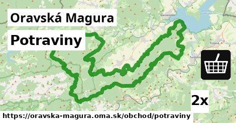 ilustračný obrázok k Potraviny, Oravská Magura