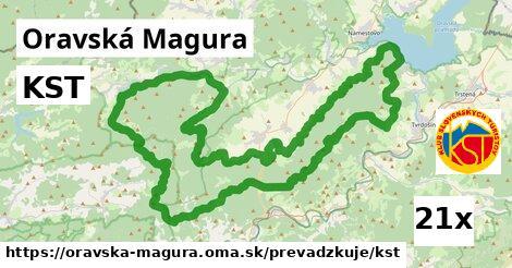 ilustračný obrázok k KST, Oravská Magura