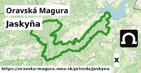 ilustračný obrázok k Jaskyňa, Oravská Magura