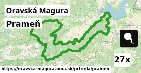 ilustračný obrázok k Prameň, Oravská Magura