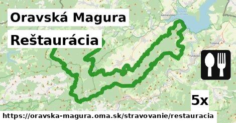 ilustračný obrázok k Reštaurácia, Oravská Magura
