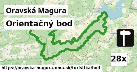 ilustračný obrázok k Orientačný bod, Oravská Magura