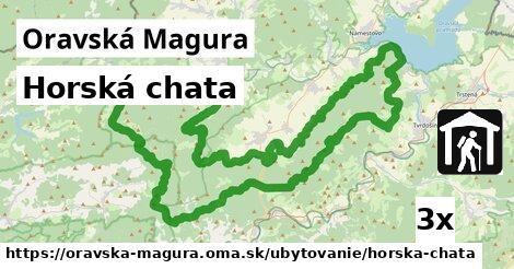 ilustračný obrázok k Horská chata, Oravská Magura