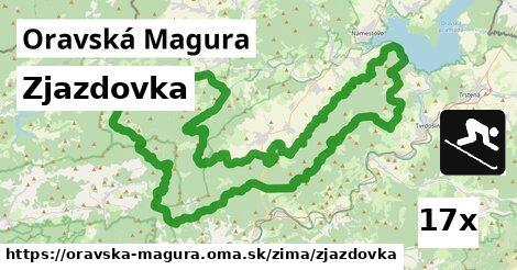 ilustračný obrázok k Zjazdovka, Oravská Magura