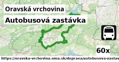 ilustračný obrázok k Autobusová zastávka, Oravská vrchovina