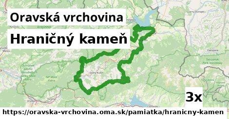 ilustračný obrázok k Hraničný kameň, Oravská vrchovina