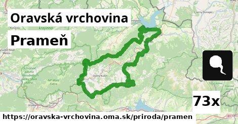 ilustračný obrázok k Prameň, Oravská vrchovina