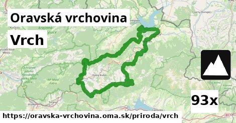 ilustračný obrázok k Vrch, Oravská vrchovina