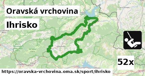 ilustračný obrázok k Ihrisko, Oravská vrchovina