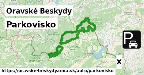 ilustračný obrázok k Parkovisko, Oravské Beskydy