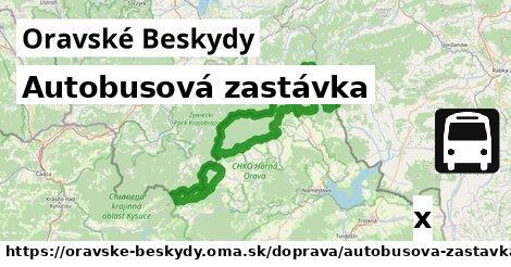 ilustračný obrázok k Autobusová zastávka, Oravské Beskydy
