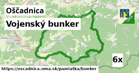 vojenský bunker v Oščadnica