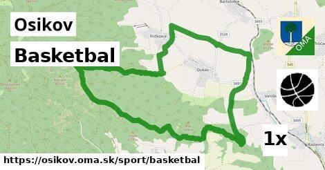 basketbal v Osikov