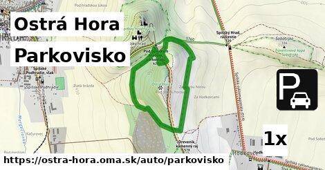ilustračný obrázok k Parkovisko, Ostrá Hora