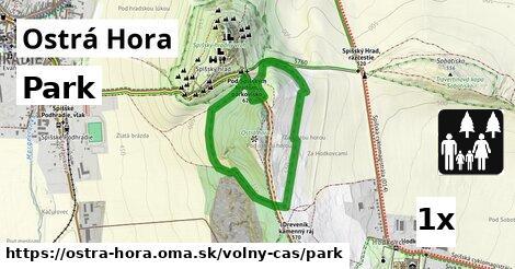 ilustračný obrázok k Park, Ostrá Hora