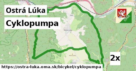 ilustračný obrázok k Cyklopumpa, Ostrá Lúka