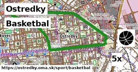 basketbal v Ostredky