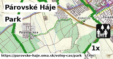 park v Párovské Háje