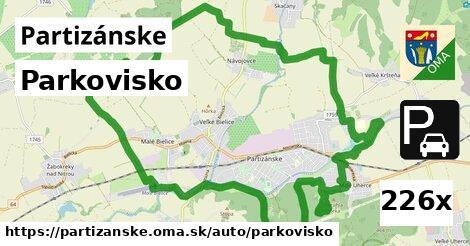 ilustračný obrázok k Parkovisko, Partizánske