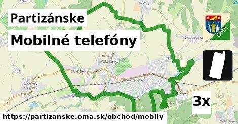 ilustračný obrázok k Mobilné telefóny, Partizánske