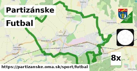 ilustračný obrázok k Futbal, Partizánske