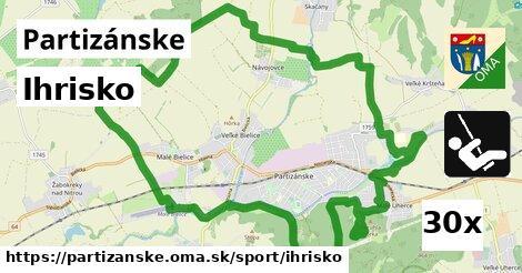 ilustračný obrázok k Ihrisko, Partizánske