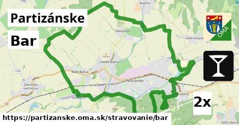 ilustračný obrázok k Bar, Partizánske