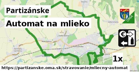ilustračný obrázok k Automat na mlieko, Partizánske