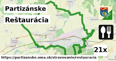 ilustračný obrázok k Reštaurácia, Partizánske