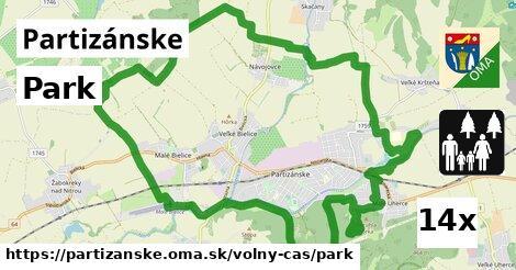 ilustračný obrázok k Park, Partizánske