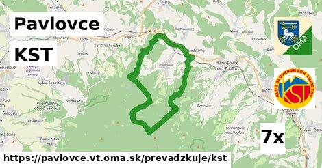 KST v Pavlovce, okres VT