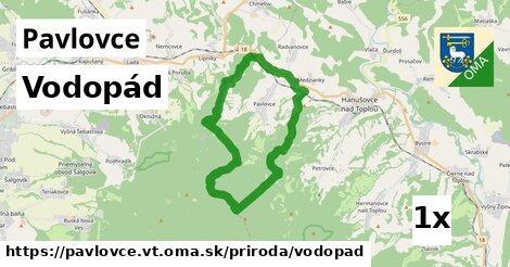 vodopád v Pavlovce, okres VT