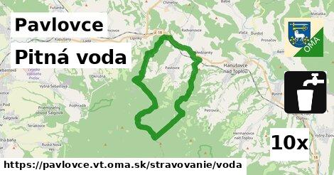 pitná voda v Pavlovce, okres VT